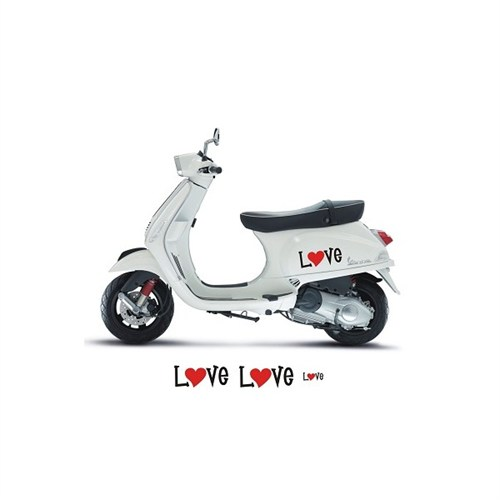 Sticker Masters Vespa Love Sticker