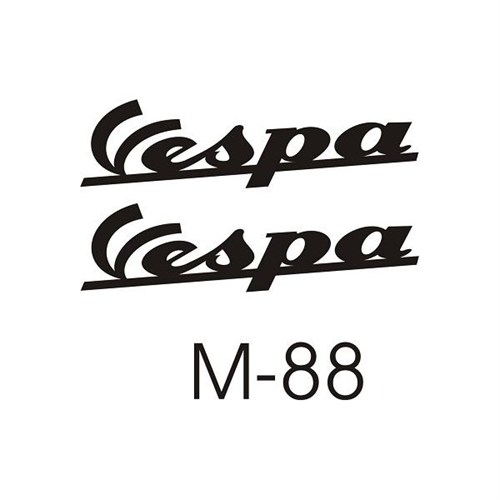 Sticker Masters Vespa Yan Grenaj Set