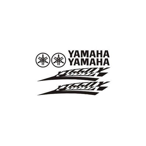 Sticker Masters Yamaha Xt660x Sticker Set