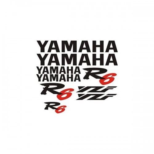 Sticker Masters Yamaha Yzf R6 Sticker Set