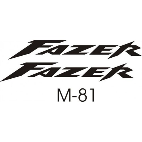 Sticker Masters Yamaha Fazer Sticker Set