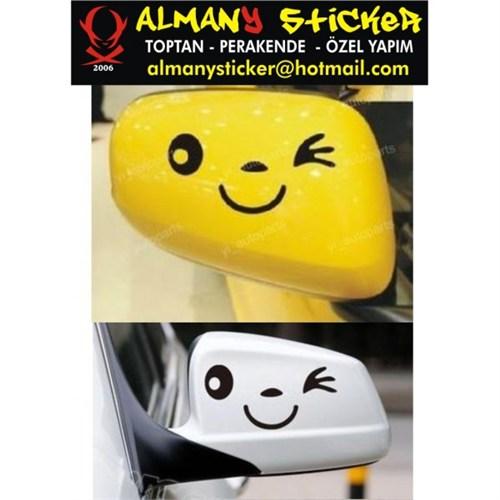 Sticker Masters Ayna Gülücük Sticker