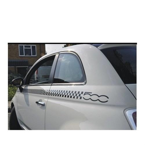 Sticker Masters Fiat 500 Dama Sticker