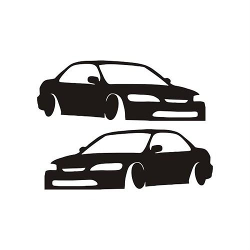 Sticker Masters Honda Civic Basık Sticker