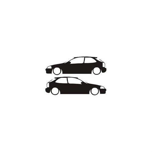 Sticker Masters Honda Civic Sticker-2