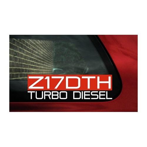 Sticker Masters Turbo Dizel Sticker