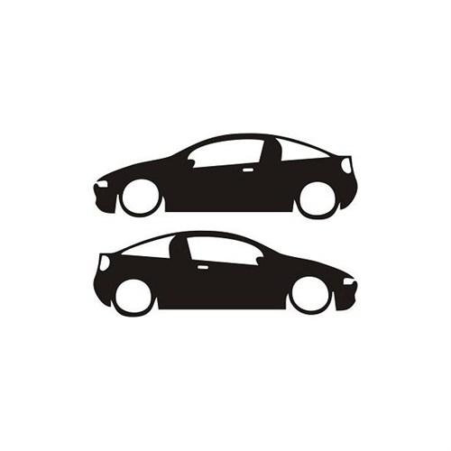 Sticker Masters Opel Tigra Basık Sticker