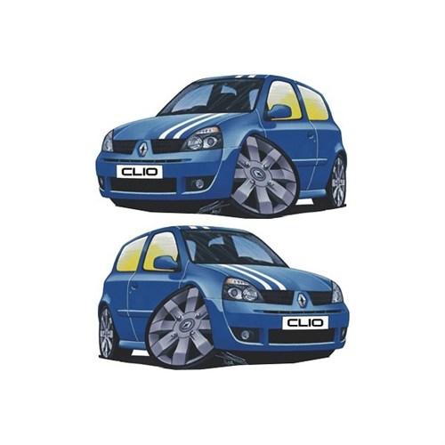Sticker Masters Renault Clio Basık Araç Sticker