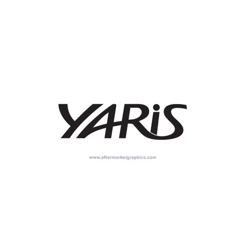 Sticker Masters Toyota Yaris Logo Sticker