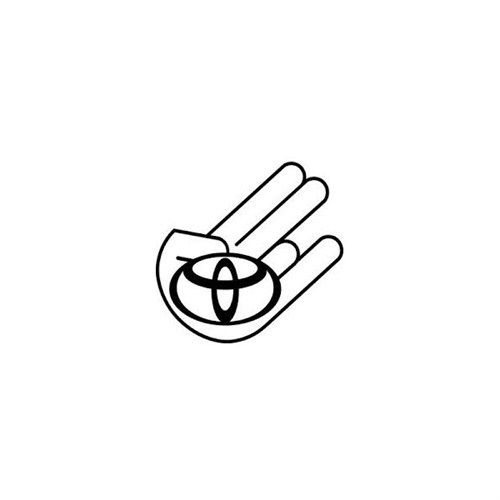 Sticker Masters Toyota Logo Jdm Sticker