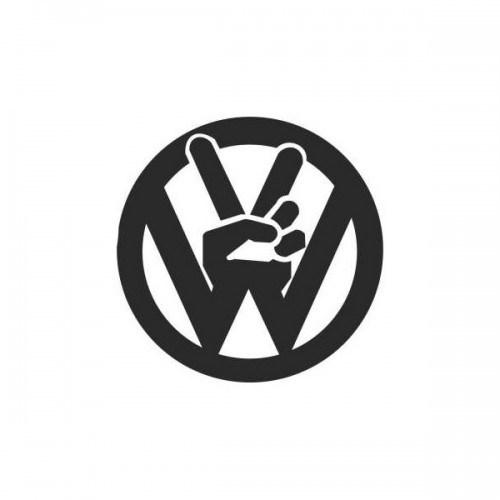 Sticker Masters Volkswagen Logo Sticker