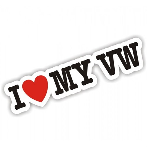 Sticker Masters I Love My Vw