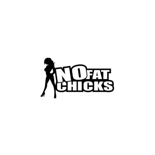 Sticker Masters No Fat Chicks