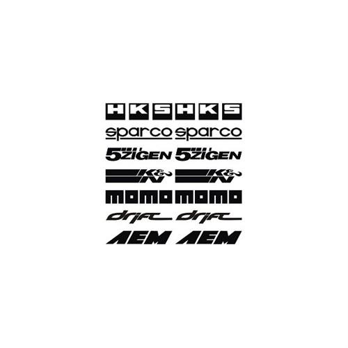 Sticker Masters Performans Yazıları Yazı Seti