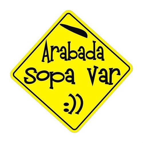 Sticker Masters Arabada Sopa Var