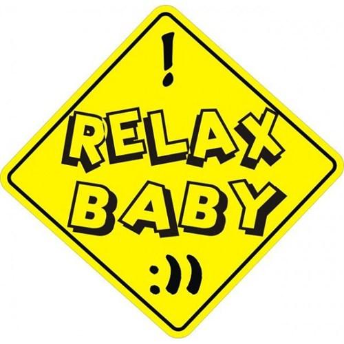 Sticker Masters Relax Baby Sticker
