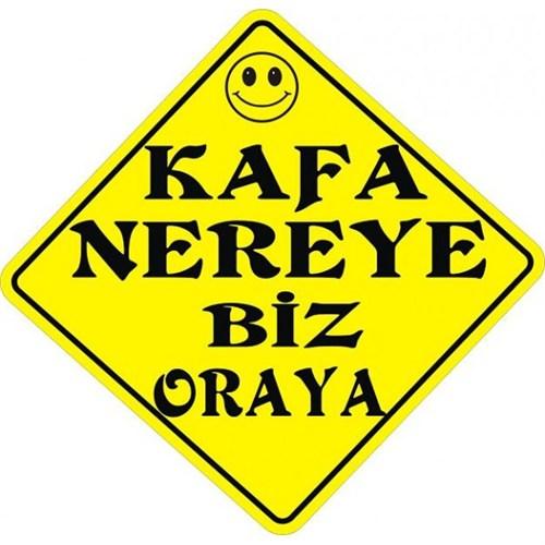 Sticker Masters Kafa Nereye Biz Oraya