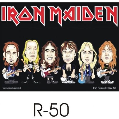 Sticker Masters İron Maiden Sticker 1