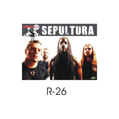 Sticker Masters Sepultura Sticker