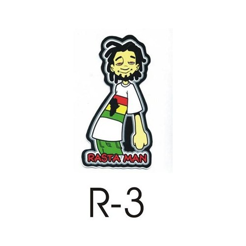 Sticker Masters Rasta Sticker