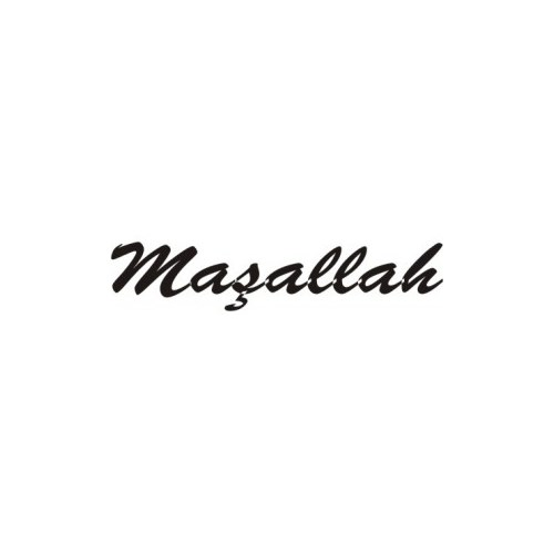 Sticker Masters Maşallah Sticker