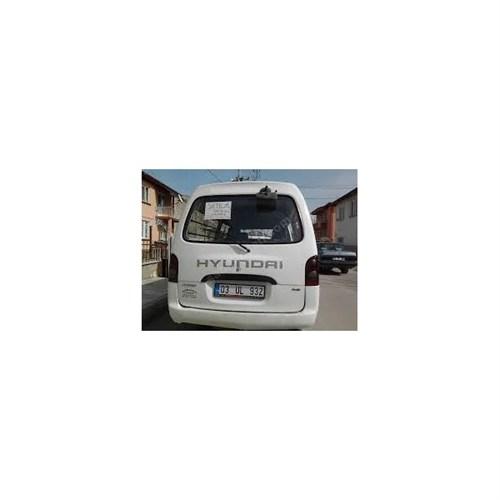 Sticker Masters Hyundai Minibüs Arka Yazısı