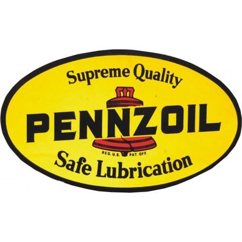 Sticker Masters Pennzoil Sticker