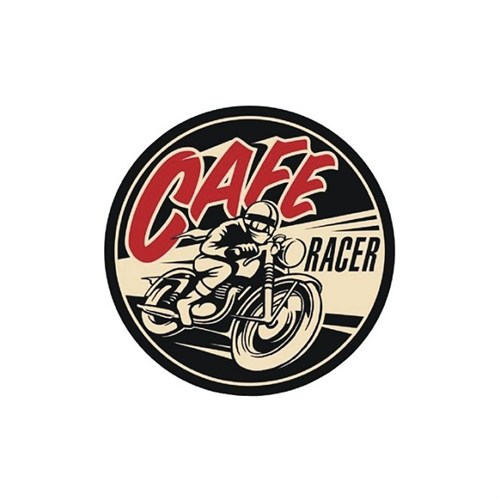 Sticker Masters Cafe Racer-1 Sticker