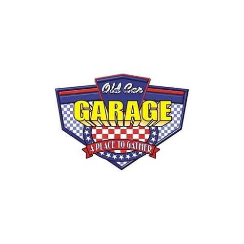 Sticker Masters Old Car Garage Sticker