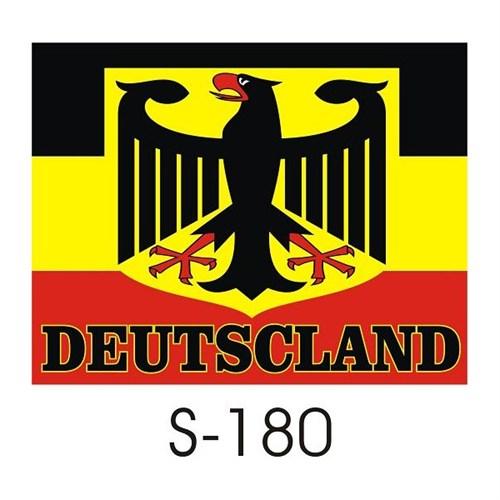 Sticker Masters Alman Bayrağı Sticker