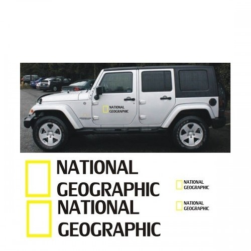 Sticker Masters National Geographic Sticker Set