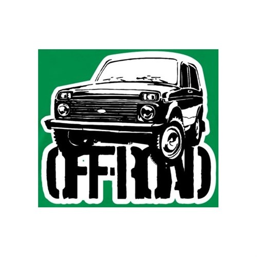 Sticker Masters Lada Off Road Sticker