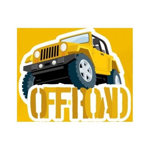 Sticker Masters Jeep Off Road Sticker