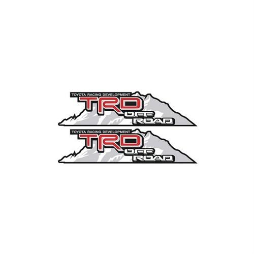Sticker Masters Toyota Jeep Trd Sticker Off Road
