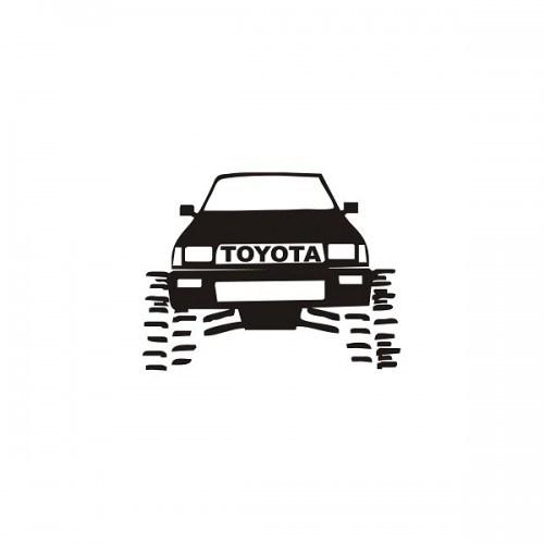 Sticker Masters Toyota Jeep Sticker