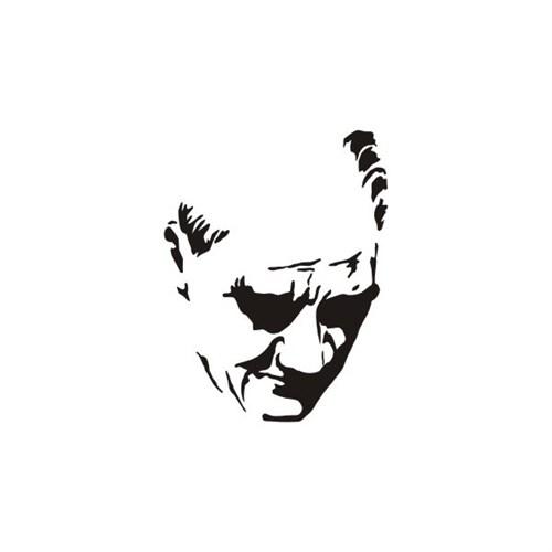Sticker Masters Kemal Atatürk Sticker