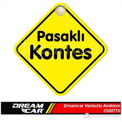 Dreamcar Vantuzlu Amblem ''Pasaklı Kontes'' (Pürüzsüz tüm yüzeylere yapıştırılabilir.) 3300770