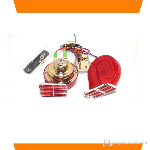 AutoCet 6 Sesli Yankılı Ekolu Korna (51522)