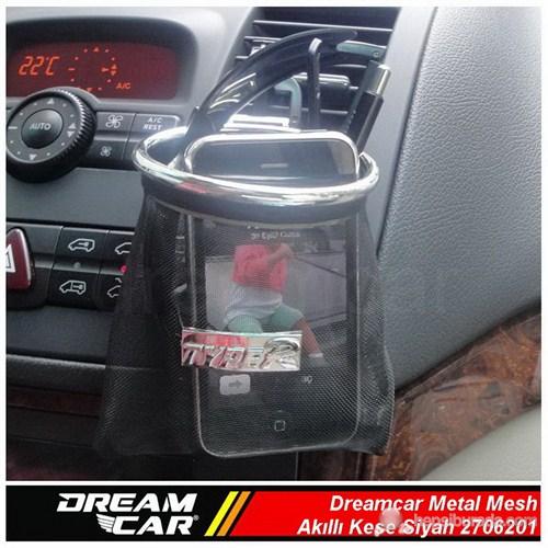 Dreamcar Metal Mesh Akıllı Kese Siyah Büyük Boy 3306201