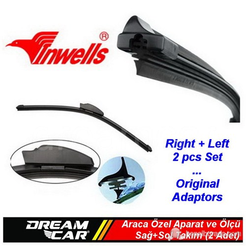 Dreamcar Inwells Citroen Jumper Aero Dynamic Muz Silecek Sağ+Sol 2016002
