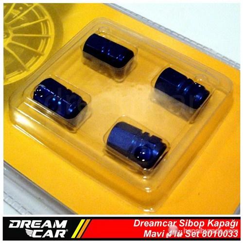 Dreamcar Aluminyum Sibop Kapağı 4'lü Set Mavi 8010033