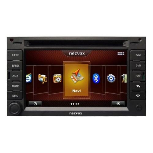 Necvox Dva 1056 Hd Peugeot 3008-5008 Platinum 7 Inch Double Din Navigasyonlu Multimedya Cihazi