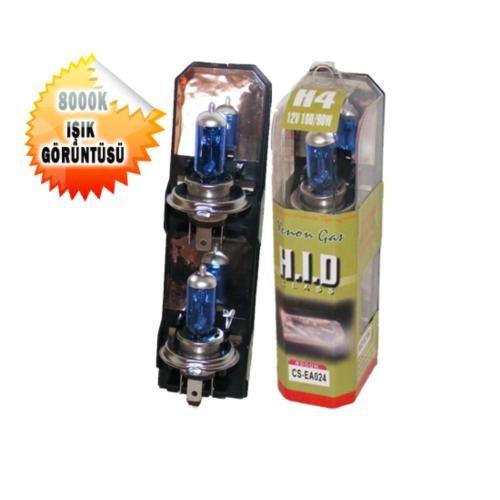 H.I.D Xenon Tip Far Ampülü H4 12V/100/90W Gerçek Beyaz 1004736