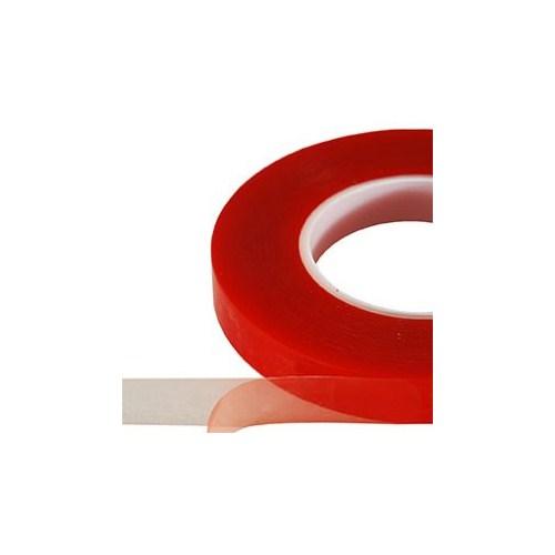 Plaser Çift Taraflı Silikon Şeffaf Bant ( OGS ) 24 mm x 5 Metre