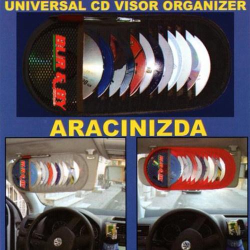 Typer 12 Li Güneşlik Cd,Kartvizin,Kalem Organizer Bej | 115097