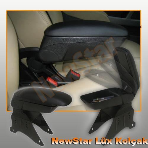 NewStar Yumuşak Çift Fonksiyonlu Uzatılabilir Yumuşak Ara Kolçak Siyah   115181