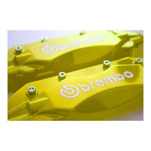 Z tech Brembo tipi sarı renk kaliper kapağı seti 12412