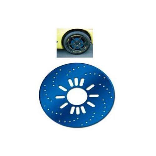 Z tech Euro mavi renk spor kampana kapağı (sahte disk) 12423