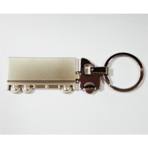 Z tech Tır Figürlü Krom Metal Anahtarlık
