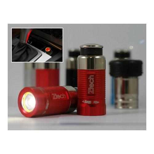 Z Tech Night Sun Kırmızı Kasa El Fenerı (cakmak Sarjlı) 7811